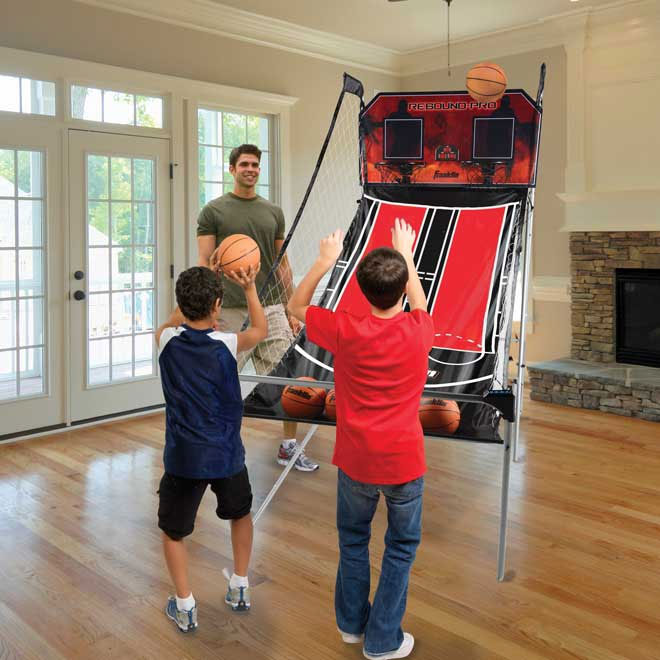Franklin Dual Court Rebound Pro Basketball Game Buy