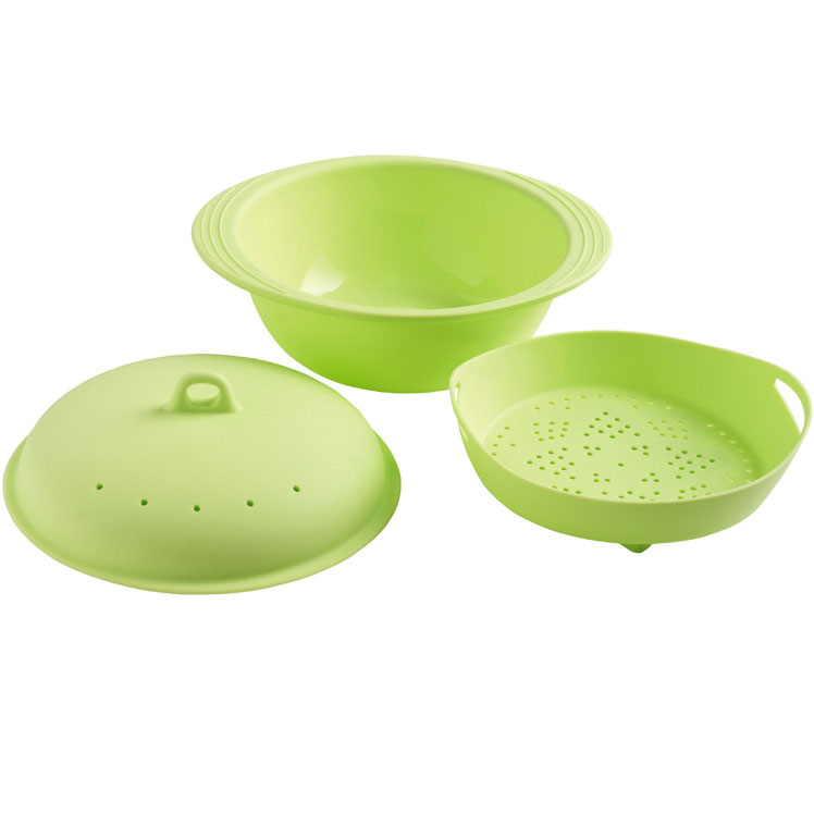 Mastrad Rice & Cereal Cooker, Silicone, Green