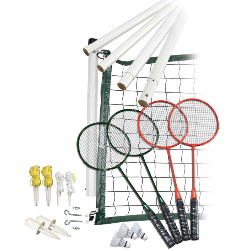 Franklin Classic Badminton Set W 4 Racquets Amp Case Buy