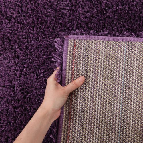 Ultra Thick Super Soft Shag Rug Violet 150x80cm Buy Rug