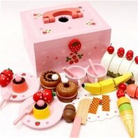 Kids Afternoon Tea Pretend Play Set in Carry Box