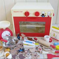 Kids Oven Bakery Pretend Play Set with Accessories