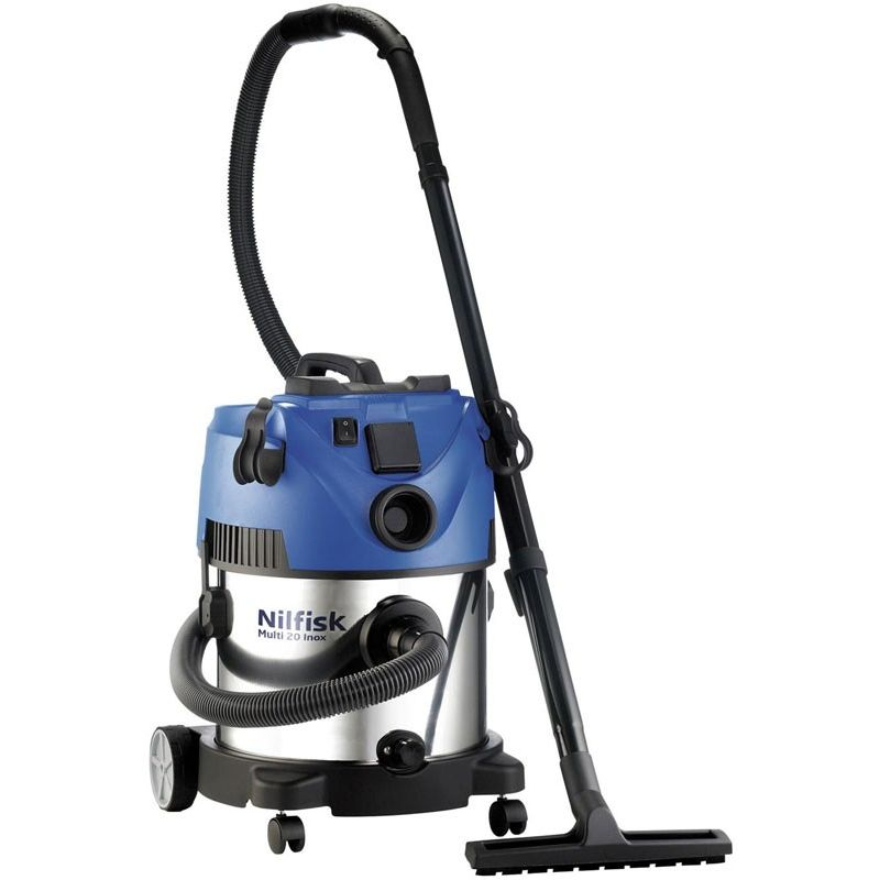 nilfisk multi 20 inox wet dry vacuum 107402286 buy canister vacuums. Black Bedroom Furniture Sets. Home Design Ideas