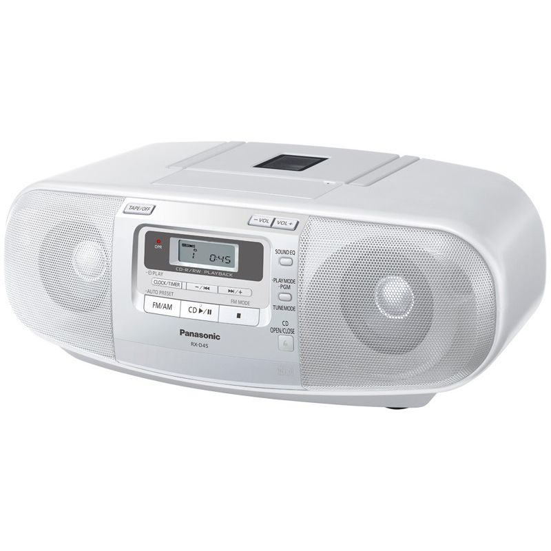 panasonic portable cd cassette player am fm radio buy radios. Black Bedroom Furniture Sets. Home Design Ideas