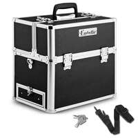 Portable Beauty Case Box in Black(HZ7-002-1)
