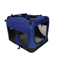XXXL Travel Dog Cat Pet Soft Crate Carrier in Blue