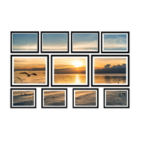 Decorative 11-Piece Photo Frame Wall Set