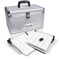 Aluminium CD DVD Bluray Storage Case Box 240 Discs