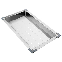 Stainless Steel Kitchen Sink Colander  Rectangle
