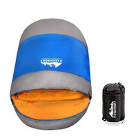 Thermal Sleeping Bag  King Size  Blue