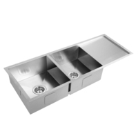 Kitchen/Laundry Sink with Waste Strainer 1114x450mm