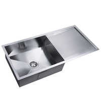 Stainless Steel Kitchen Undermount Sink 960x450mm