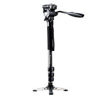 Black DSLR Camera Monopod Compact 146cm