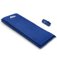 Single Air Self Inflating Sleeping Mat in Blue 10cm