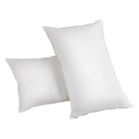 2 Pieces White Duck Feathers Down Pillow with Bag