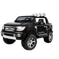 Kids Ride On Car in Black with Remote Control