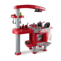 Red Play Kitchen Set play kitchens | a toy kitchen for the little chef that loves cooking