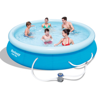 Bestway Above Ground Swimming Pool w/ Pump 5377L