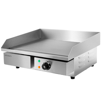 Stainless Steel Commercial Electric Griddle BBQ