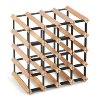 20 Bottle Timber Wine Rack Wine Storage System