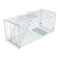 XXL Humane Possum Fox Cat Animal Trap Cage 150x50cm
