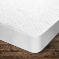 Waterproof Double Size Mattress Protector 140gsm