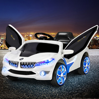 Kids Electric Ride on Car w/ Remote Control White