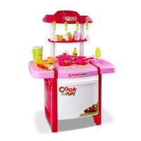 25 Piece Pink Kids Little Chef Kitchen Play Set