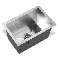 Stainless Steel Kitchen Laundry Sink 450x300mm