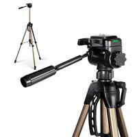 Lightweight Camera Tripod w Dual Bubble Level 160cm