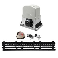 Automatic Sliding Gate Opener with 2 Remotes 1200kg