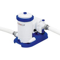 FlowClear Water Pump w Filter Cartridge 2,500gal/h