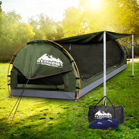 Water Repellent Double Camping Swag Tent - Celadon