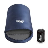 Wesshiorn Pebble Shaped Sleeping Bag in Navy - XL