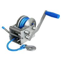 Dyneema 3 Speed Hand Winch with Rope 2000kg 4400lbs