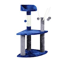Medium Cat Scratcher Tree Post w/ Hanging Toy 95cm