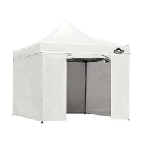 Instahut Pop Up Gazebo Hut w/ Sandbags 3x3m - White