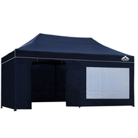 Instahut Pop Up Gazebo Hut w/ Sandbags 3x6m - Navy