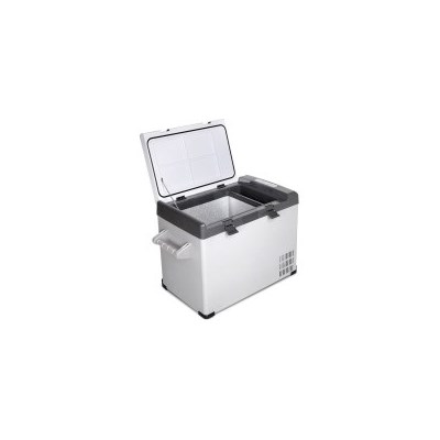 2-in-1 Portable Camping Fridge Freezer w/ LCD 55L