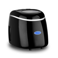 Portable 3 Size Cube Ice Maker in Black 2L 15kg