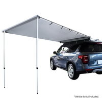 Waterproof Aluminuim Frame Car Awning - Grey 2.5X3m