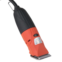 Commercial Pet Grooming Kit w/ Comb & Blade in Red