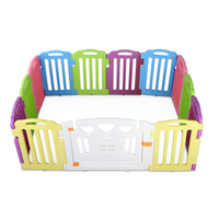 12pc Colourful Interactive Baby Playpen Panels