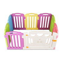 8pc Colourful Interactive Baby Playpen Panels