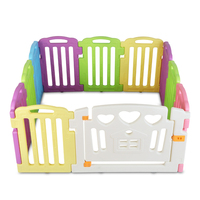10pc Plastic Baby Interactive Playpen & Game Panels