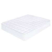 Queen Cotton & Polyester Mattress Protector White