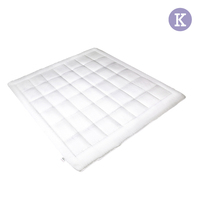 King Microfibre Hollow Filling Quilt White 200GSM
