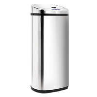 Stainless Steel Rubbish Bin with Motion Sensor 50L