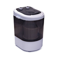 2-in-1 Portable Washing Machine & Spin Dry 4kg 30L