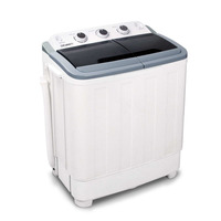Twin Portable Washing Machine & Spin Dry 5kg 30L